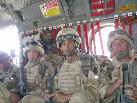 Members of 51 Para Sqn Now Zad 2006