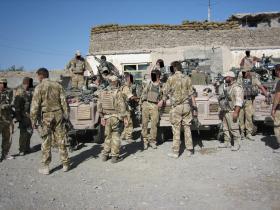 Pathfinder Platoon, Musah Qaleh, Afghanistan, Op Herrick IV, 2006.