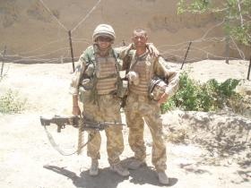 L/Cpl Brook & L/Cpl Carr, Now Zad, June 2006
