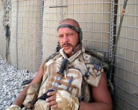 Sgt Liney, Herrick VIII, Afghanistan, 2008.