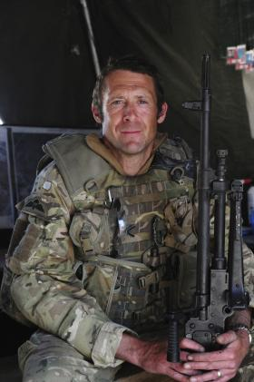 Lance Corporal Robert Fisher, 3 PARA, Afghanistan, 2011