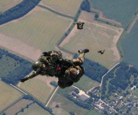 Pathfinders on a descent, 2005.