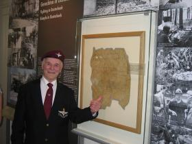 Tony Crane at the Airborne Museum, Oosterbeek 2009