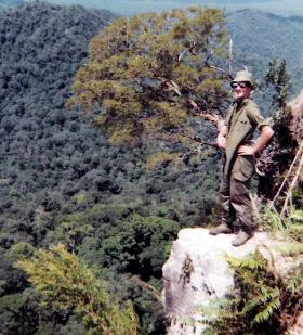 Alan Bell, 2 PARA,  Malaya, 1969.