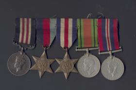 Medal Set for Sgt Allan Reading MM