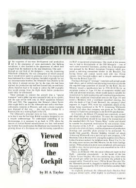 Magazine article about the Albemarle aircraft
