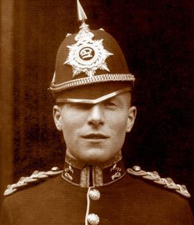Brian Quinn, Aldershot Military Tattoo, 1939.