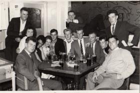 C Company, 1 PARA in The Havelock Arms in Aldershot, c 1958.