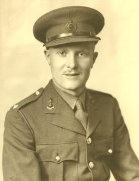2nd Lt Alex Allen RE