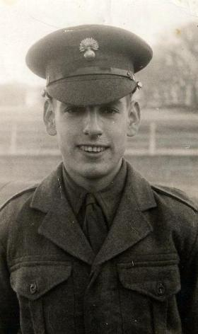 Grenadier Guardsman Anderson, Caterham Barracks, 1954.