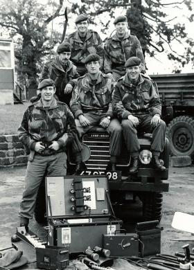 Members of 9 Para Sqn RE, Northern Ireland, date unknown.