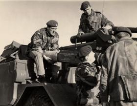 Members of Para Sqn RAC, 1960s.