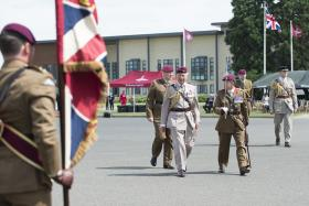 Paratroopers celebrate royal anniversary