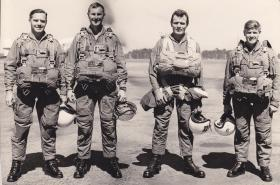 No 1 PTS Instructors, Rhodesia, prior to last X Type jump