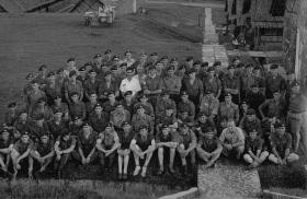 Members of 16 Lincoln Coy and 44 Independent Brigade at Nee Soon Barracks, Singapore, 1962