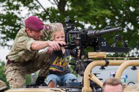 Army show thrills Colchester