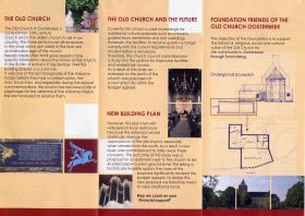 Friends of the Old Church Oosterbeek leaflet