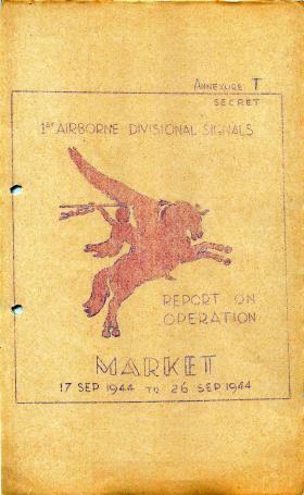 1 Airborne Division report on Operation Market Garden, part 4.
