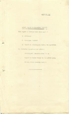 1 Airborne Division report on Operation Market Garden, part 1.