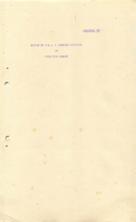 1 Airborne Division report on Operation Market Garden, part 2.