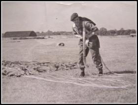 Pte Kenneth Arnold, RAF Upper Heyford 1947