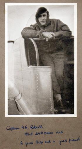 Capt A E Roberts, date unknown.