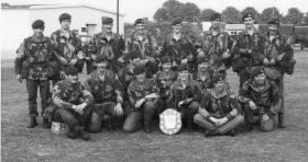 Bn Assault Course Competition Winners (HQ Coy 3 PARA) - Osnabruck 1970s
