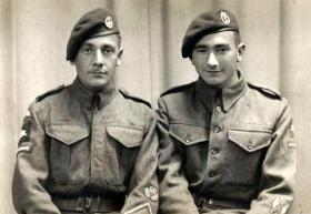 Unknown and Pte Bolton, date unknown.