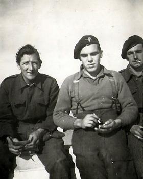 Men of 4th Para Bn, Athens, December 1944.