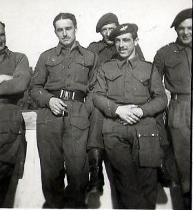 Members of 4th Para Bn, Athens, January 1945.