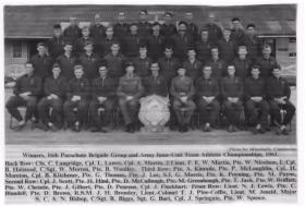 1  Para Athletics team (Army Inter Unit Athletics Team Champions) 1961