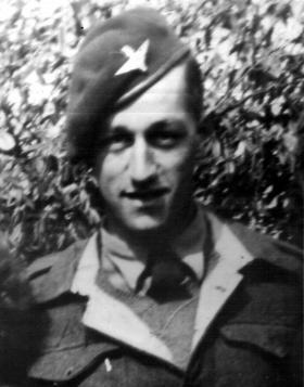 Private Aubrey Woodward, 2nd Para Bn, date unknown.