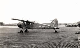 Auster aircraft used in Borneo, 1965.