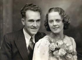 Alfred Victor and Anna Dann, September 1938.