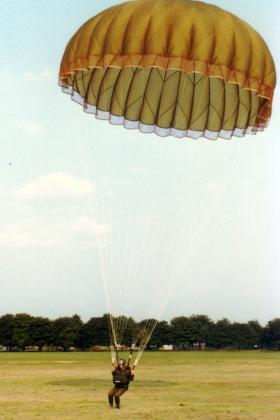 Balloon jump onto Queen's Parade. Early '80s.