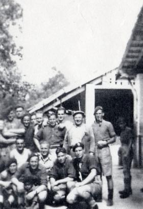 Members of C Company, 3rd Para Bn, November 1942.