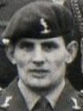 SSgt John 'Joe' Baker, late 216 Para Sig Sqn, killed in the Falklands War 1982.
