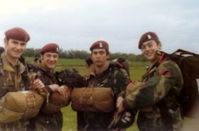 Members of 44 Parachute Ordnance Field Park, RAOC (V), date unknown.