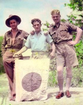 Members of 3 Airborne Squadron Royal Engineers, Barian, North India, 1945.