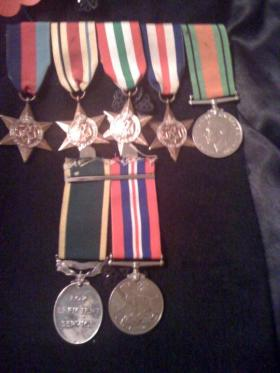 Medal set of Joffre Barber