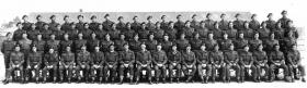 Bn H.Q. and Signal Section, 2nd Bn, The South Staffordshire Regiment, Carter Barracks, Bulford, April 1943.