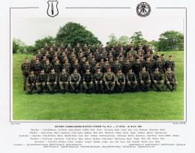 Section Commanders' Battle Course No 91/4, NCOs' Tactical Wing School, Brecon 17 June-25 July 1991.