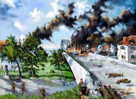 The Bridge at Arnhem by Kenneth Spencer