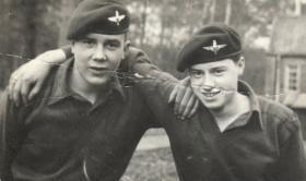 Pte Brian Freeman age15 1963