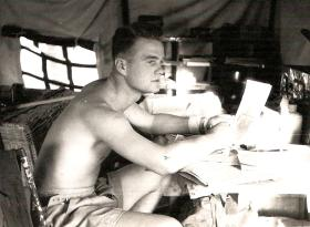 Bdr Geordie Lang, 33 Para Field Regiment, Cyprus 1956