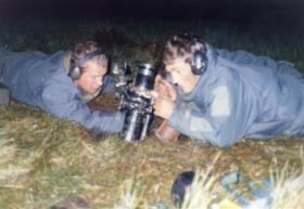 Nick Woolmer & 'Geordie' Craft, 1 PARA Mortar Platoon, undated.