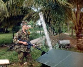 'Bob' Hilton, Belize, 1983.