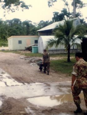 A Coy, 2 PARA, Belize, 1983.