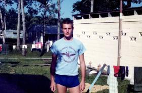 'Bob' Hilton, A Coy, 2 PARA, Belize, 1983.