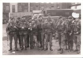 Members of 3 PARA Belfast July 1973